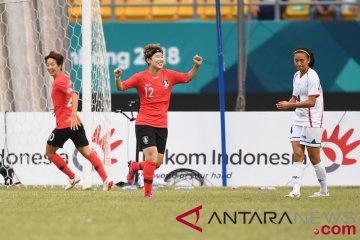 Sepak Bola Wanita Korea Selatan Vs Chinese Taipei