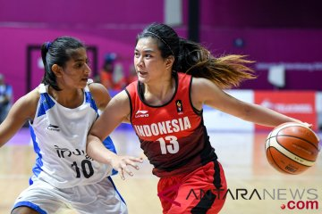 Kualifikasi Basket Putri IndonesiaVs India