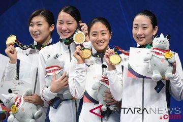Renang Putri Final Gaya Bebas 4x100 M