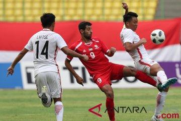Sepak Bola Hong Kong VS Palestina