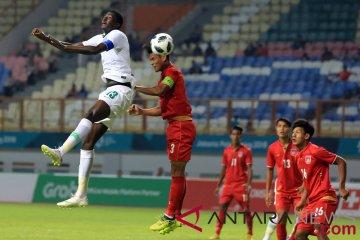 Sepakbola Myanmar Vs Arab Saudi
