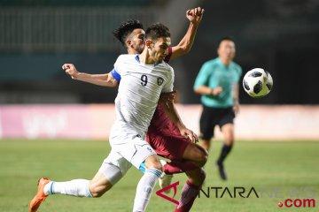 Sepakbola Qatar VS Uzbekistan