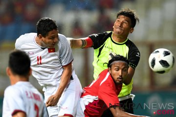 Sepak Bola Vietnam VS Nepal