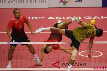 Sepak Takraw Putra Beregu Semifinal