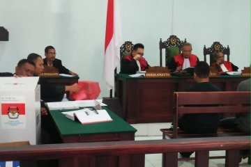 Terdakwa kasus korupsi DD - ADD Undur divonis empat tahun penjara