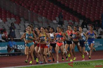Final Lari 1500 Meter Putri