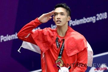 Bulu tangkis medali emas Indonesia