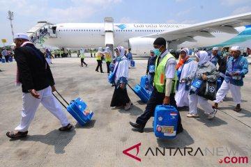 Kedatangan Jamaah Haji kloter pertama
