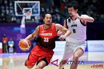 Klasifikasi Basket Putra - Indonesia VS Jepang