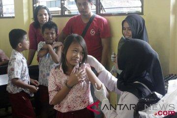 Papua Barat Peringkat Pertama Imunisasi MR