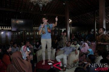 Sandiaga Uno Kunjungi Yogyakarta