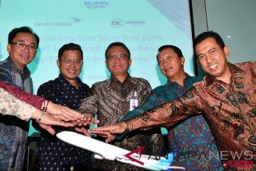 Sinergi Bisnis Askrindo dan Garuda Indonesia