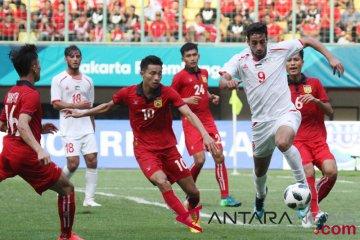 Sepakbola Laos vs  Palestina