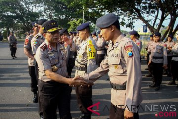 BKO Brimob Ke Lombok