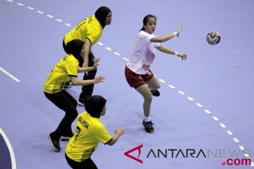 Bola Tangan Indonesia vs Malaysia