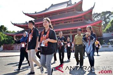 BUMN Hadir - SMN Kunjungi Kelenteng Sam Poo Kong