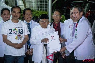 Jokowi - Maruf Amin Selesai Jalani Tes Kesehatan