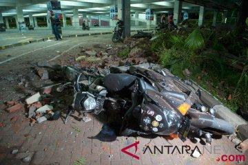 Kerusakan Bali Akibat Gempa Lombok