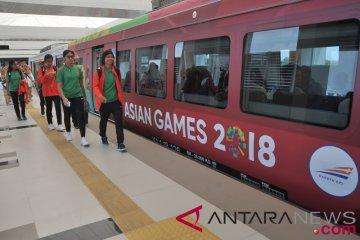 LRT Transportasi Atlet Asian Games