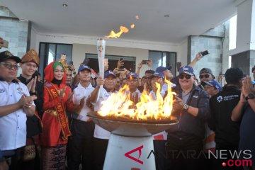 Obor Asian Games Singgah Di OKI