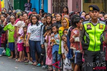 Pembagian Daging Kurban Di Semarang