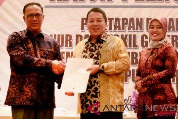 Penetapan Gubernur Lampung Terpilih