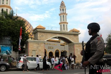 Pengamanan Shalat Idul Adha Di Ambon