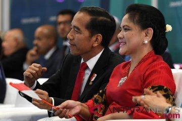 Presiden Joko Widodo Berjoged