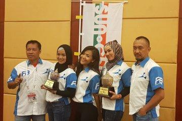 Dua srikandi balap Indonesia raih gelar Asia