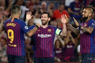 Barcelona Berjaya di Nou Camp