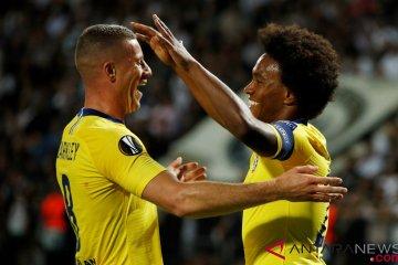 Gol Tunggal Willian Antar Chelsea Kalahkan PAOK Salonika