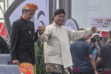 Jokowi ucapkan selamat ulang tahun kepada Prabowo