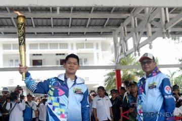Obor Asian Para Games di Makassar