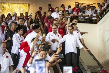 Presiden Jokowi Hadiri Rakernas IV Projo