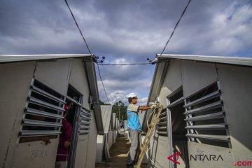Rumah Transisi Korban Gempa Lombok