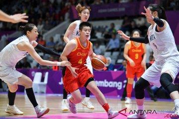 Final Basket Putri - Unified Korea Vs Cina