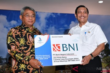 BNI Official Banking Partner Pertemuan IMF-World Bank Group 2018