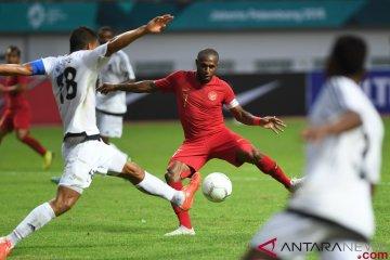 Laga Persahabatan Indonesia vs Mauritius