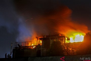 Kebakaran Hotel di Pekanbaru