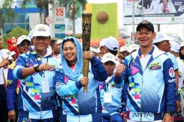 Obor Asian Para Games di Pontianak