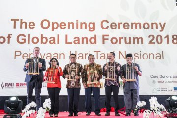 Pembukaan Global Land Forum