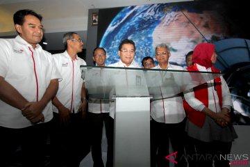 Telkom Resmikan Pengoperasian Satelit Merah Putih