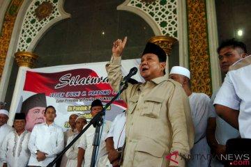 Prabowo Kunjungi Ponpes Tegal