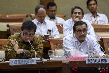 Rapat Kerja Komisi VI DPR dan Menperin