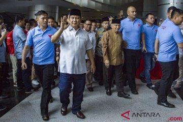 Ramah Tamah Prabowo-Sandiaga