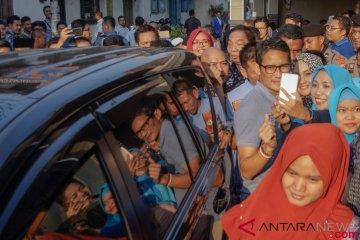 Sandiaga Uno Kunjungi Sentra Batik Pekalongan