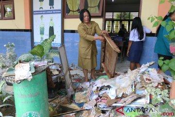 Sekolah Terdampak Banjir Di Medan