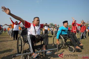 Senam Penyandang Disabilitas