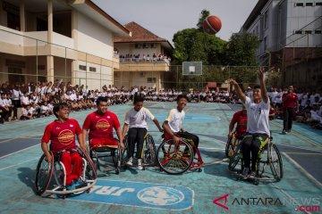 Sosialisasi Basket Kursi Roda