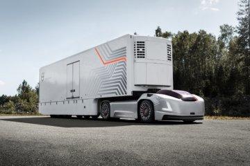 Volvo kenalkan purwarupa truk swakemudi tanpa kabin sopir